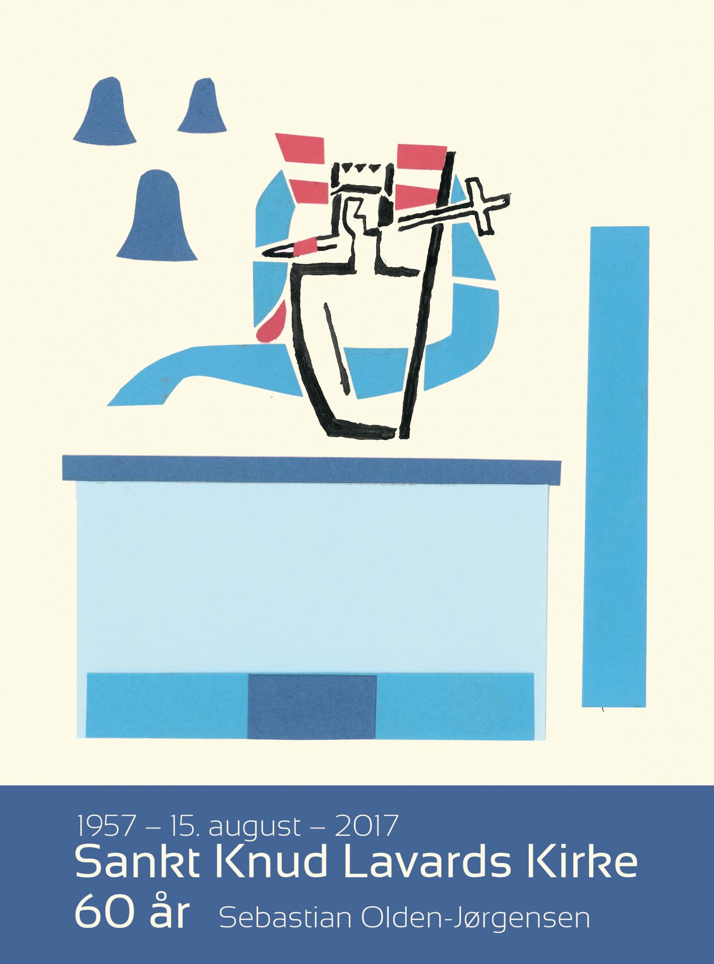 Sankt Knud Lavards Kirke 60 år. 1957 - 15. august - 2017